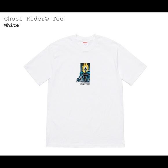 b8537afad214 Supreme Shirts | Ghost Rider Tee | Poshmark